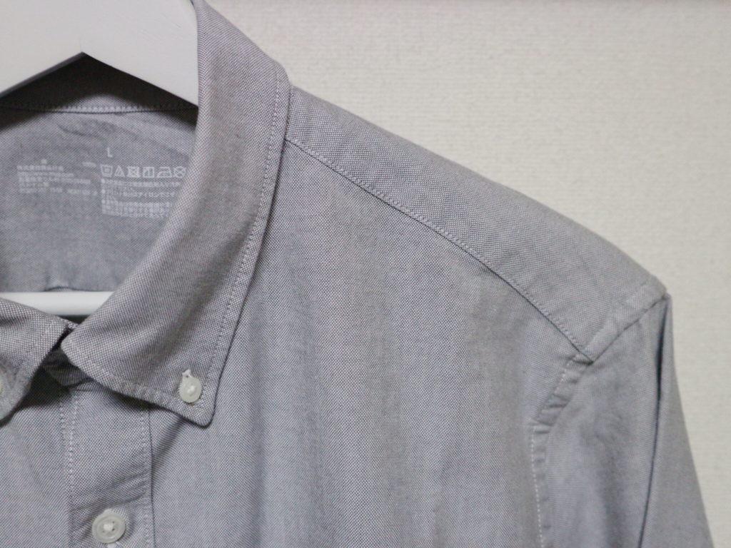 シャツ 無印 オックスフォード